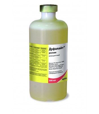 Dufalite solution for injection